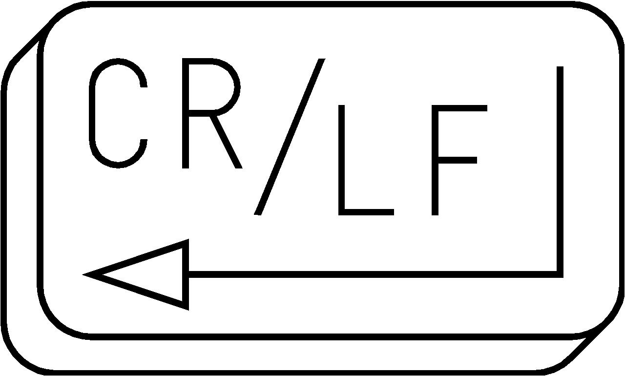 CR/LF Logo
