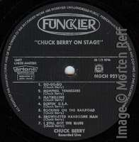 Chuck Berry: On Stage - Artone (early version) label