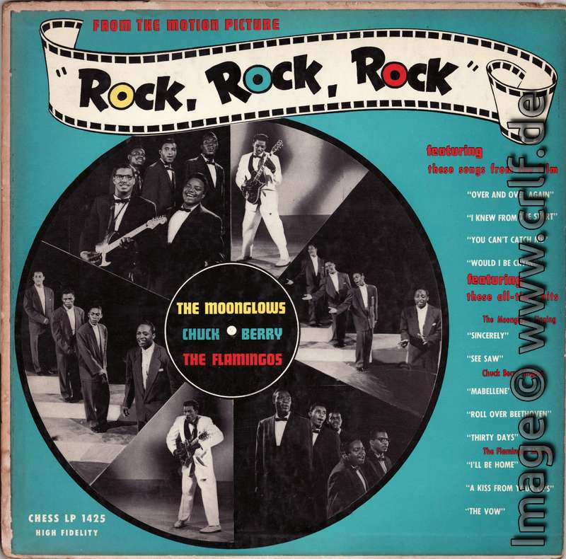 The Very First Chuck Berry Lp Album The Chuck Berry