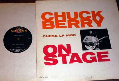 Chuck Berry: On Stage - without sticker