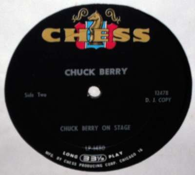 Chuck Berry: On Stage - original label DJ copy