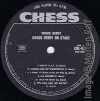 Chuck Berry: On Stage - Australia label side 2