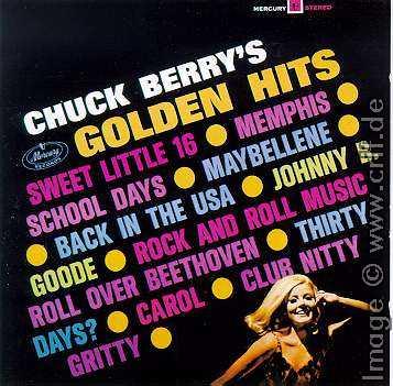 Chuck Berry Collector S Guide The Mercury Era 1966 1969