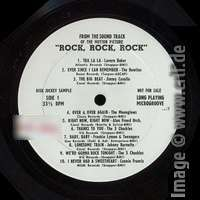 Rock, Rock, Rock - Disc Jockey Sample LP A