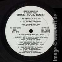 Rock, Rock, Rock - Disc Jockey Sample LP B