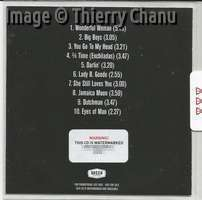 CHUCK DECCA Promo CD back