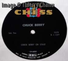 Chuck Berry: On Stage - label DJ copy