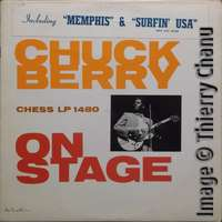 Chuck Berry: On Stage - CHESS LP-1480 2nd sticker